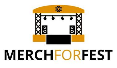 logo Merch For Fest (bílé pozadí)