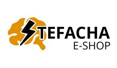 logo e-shopu Stefacha (bílé pozadí)