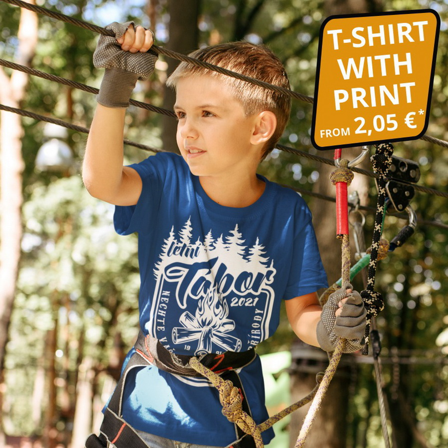 t-shirts for camps