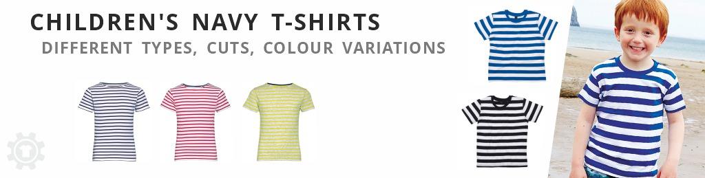 child´d t-shirts navy